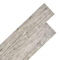 vidaXL PVC Flooring Planks 5.26 m² 2 mm Oak Washed
