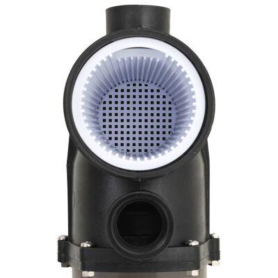 vidaXL Pool Pump with Timer Black 0,25 HP 8000 L/h