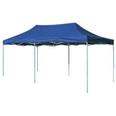 vidaXL Foldable Tent Pop-Up 3x6 m Blue