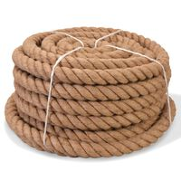 vidaXL Rope 100% Jute 30 mm 30 m