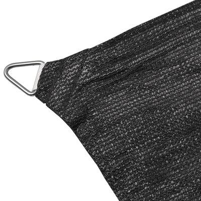 vidaXL Sunshade Sail HDPE Rectangular 2x4 m Anthracite