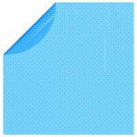 vidaXL Floating Round PE Solar Pool Film 455 cm Blue