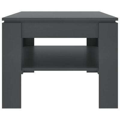 vidaXL Coffee Table Grey 110x60x47 cm Chipboard