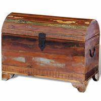 vidaXL Reclaimed Storage Chest Solid Wood