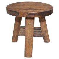 vidaXL Stool Solid Reclaimed Wood