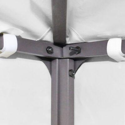 vidaXL 2-Tier Gazebo Top Cover 310 g/m² 3x3 m White