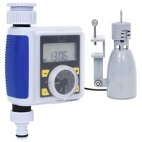 vidaXL Digital Water Timer with Single Outlet and Rain Sensor