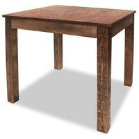 vidaXL Dining Table Solid Reclaimed Wood 82x80x76 cm