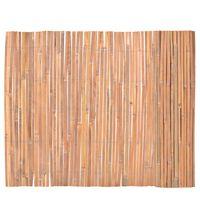 vidaXL Bamboo Fence 100x400 cm