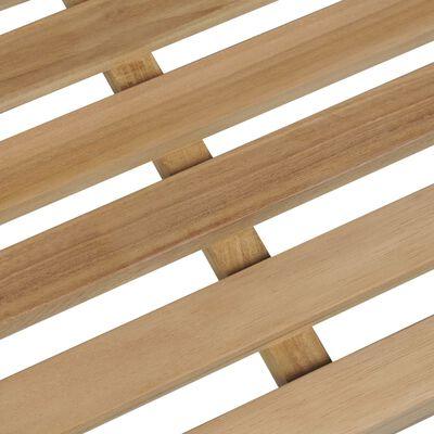 vidaXL Garden Bench 175 cm Solid Teak Wood