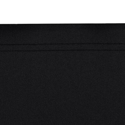 vidaXL Retractable Side Awning 180x600 cm Black