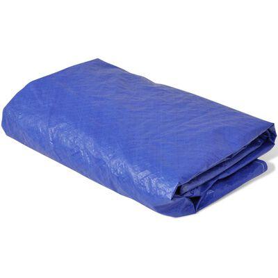 vidaXL Trampoline Cover PE 450-457 cm 90 g/m?