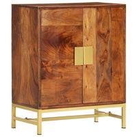 vidaXL Sideboard 60x35x75 cm Solid Acacia Wood