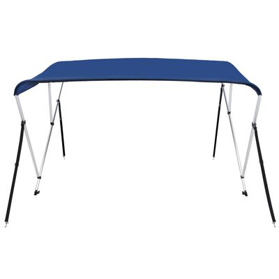 vidaXL 3 Bow Bimini Top Blue 183x140x137 cm