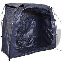 vidaXL Bike Storage Tent 200x80x150 cm Blue