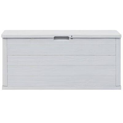 vidaXL Garden Storage Box 280 L Light Grey