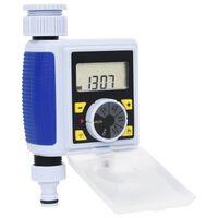 vidaXL Garden Digital Water Timer with Single Outlet
