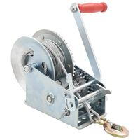 vidaXL Hand Winch 1360 kg
