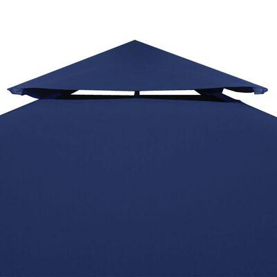 Water-proof Gazebo Cover Canopy 310 g / m² Dark Blue 3 x 3 m