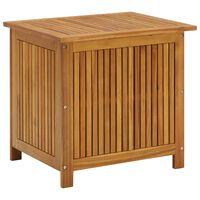 vidaXL Garden Storage Box 60x50x106 cm Solid Acacia Wood