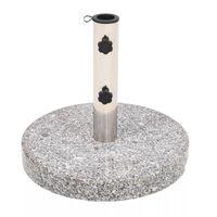 vidaXL Parasol Base Granite Round 22 kg