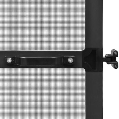 vidaXL Hinged Insect Screen for Doors Anthracite 120x240 cm