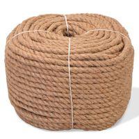 vidaXL Rope 100% Jute 8 mm 500 m