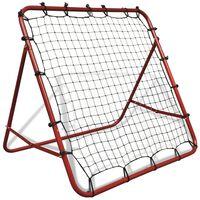 vidaXL Adjustable Football Kickback Rebounder 100 x 100 cm