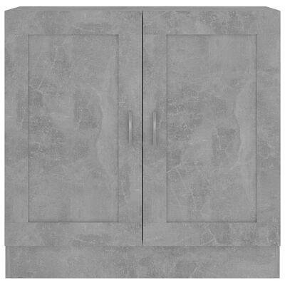 vidaXL Book Cabinet Concrete Grey 82.5x30.5x80 cm Chipboard, Concrete_grey