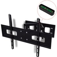 """vidaXL Double-armed Tilt Swivel Wall TV Bracket 3D 600x400mm 37""""-70"""""""