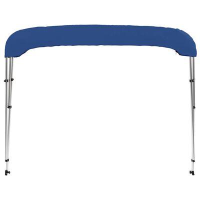 vidaXL 3 Bow Bimini Top Blue 183x180x137 cm