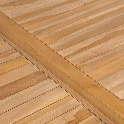 vidaXL Garden Table 150x90x77 cm Solid Teak Wood
