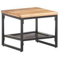 vidaXL Side Table 40x40x35 cm Solid Acacia Wood