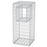 vidaXL Gabion Basket Post/Planter Steel 50x50x120 cm
