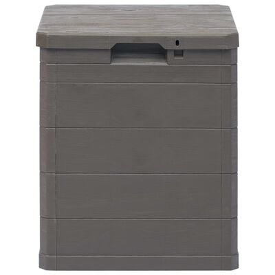 vidaXL Garden Storage Box 90 L Brown