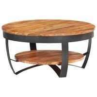 vidaXL Coffee Table 65x65x32 cm Solid Acacia Wood