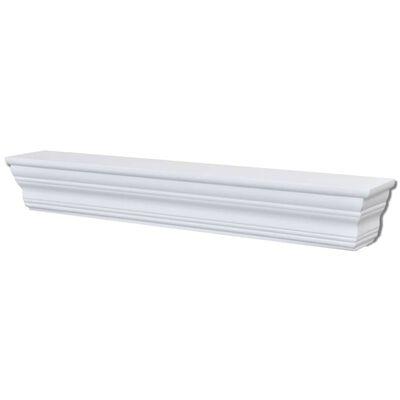 "vidaXL Wall Shelves ""Aaliyah"" 2 pcs White"