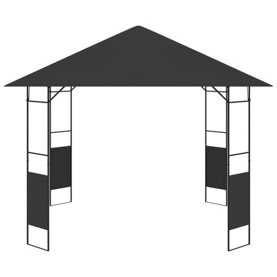 vidaXL Garden Gazebo 3x3 m Anthracite 160 g/m²