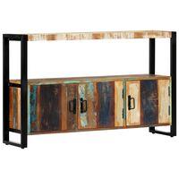 vidaXL Sideboard 120x30x75 cm Solid Reclaimed Wood