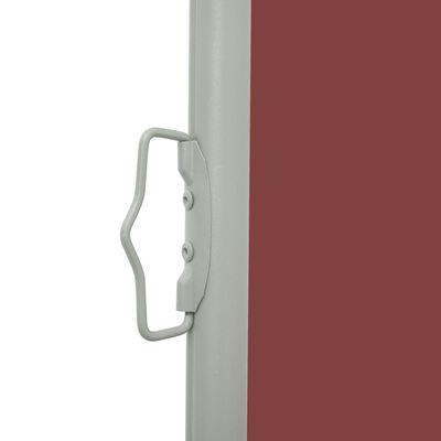vidaXL Patio Retractable Side Awning 100x500 cm Brown