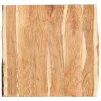 vidaXL Table Top Solid Acacia Wood 60x(50-60)x3.8 cm