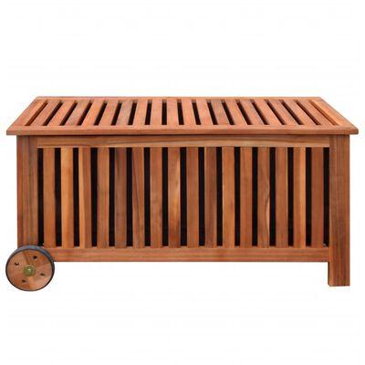 vidaXL Garden Storage Box 118x52x58 cm Wood