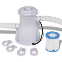 vidaXL Swimming Pool Filter Pump 300 gal / h