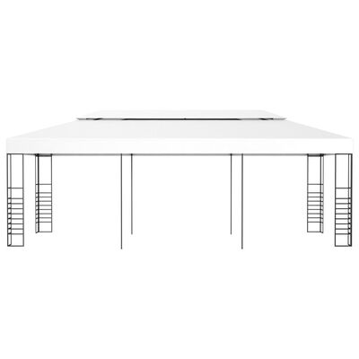 vidaXL Gazebo Marquee 6x3 m White