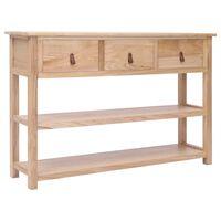 vidaXL Sideboard Natural 115x30x76 cm Wood
