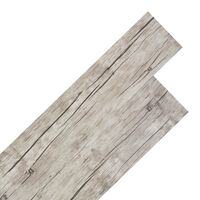 vidaXL Self-adhesive PVC Flooring Planks 5.02 m² 2 mm Oak Washed