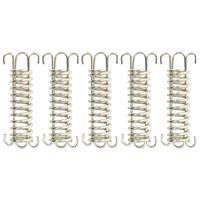 vidaXL Spring Locks for Sunshade Sail 5 pcs Stainless Steel