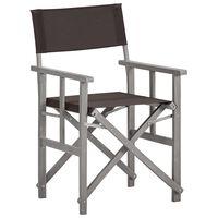 vidaXL Director's Chairs Solid Acacia Wood