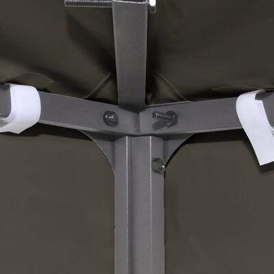 vidaXL 2-Tier Gazebo Top Cover 310 g/m² 3x3 m Taupe