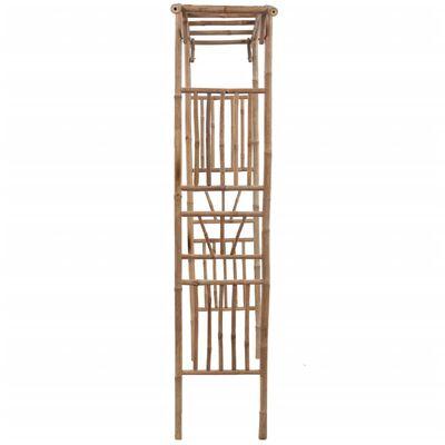 vidaXL Rose Arch Bamboo 145x40x187 cm